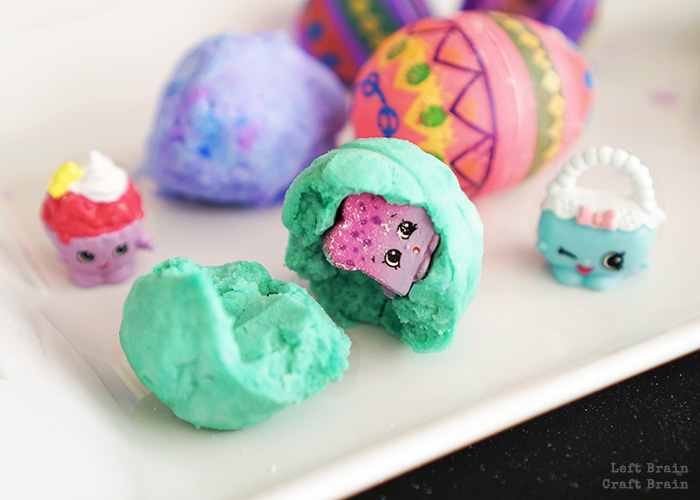 Broken Shopkins Egg Closeup Left Brain Craft Brain