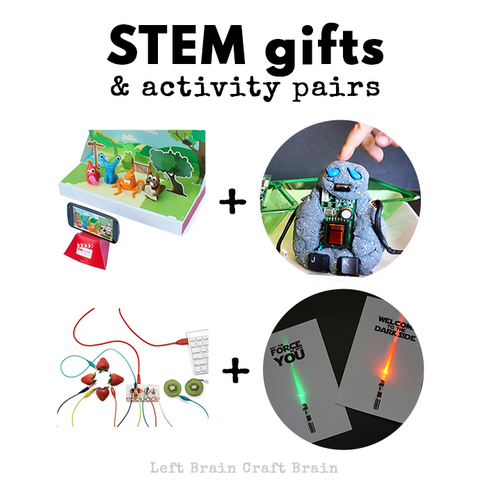 Give the gift of fun and learning with these hands-on STEM gift and activity pairs for kids.