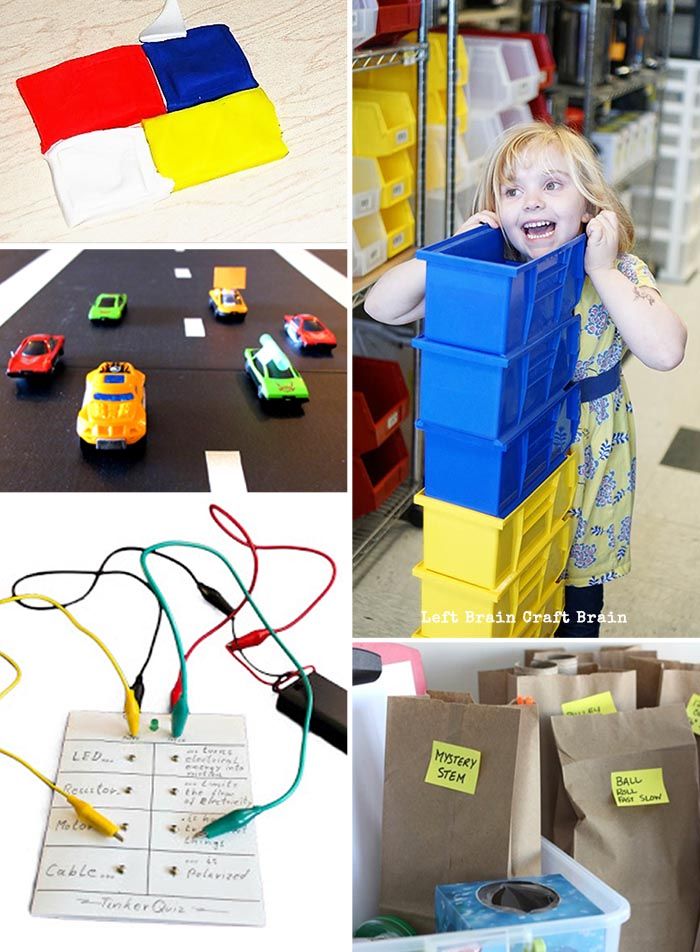 Tinkering Challenges Left Brain Craft Brain