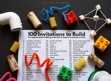 100 Invitations to Build Iggy Peck Architect Left Brain Craft Brain featured