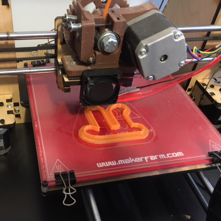 3D Printer Pi Cookie Cutter