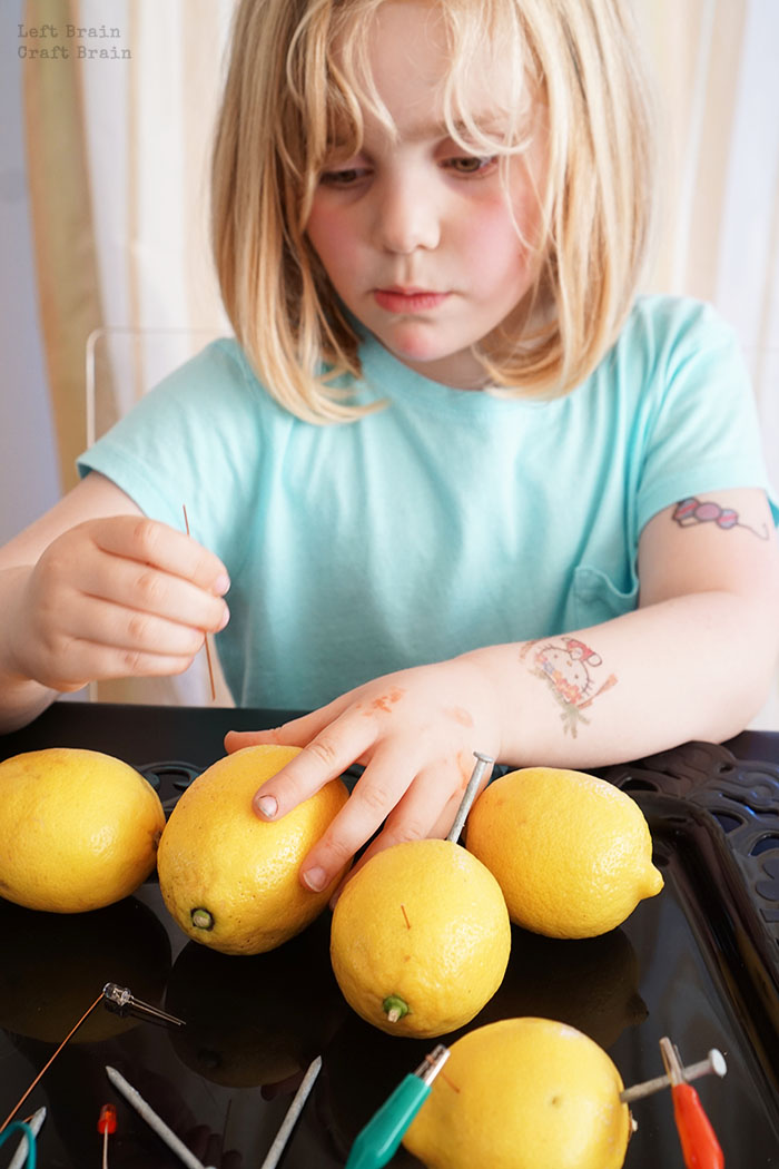 Making Lemon Circuits Left Brain Craft Brain
