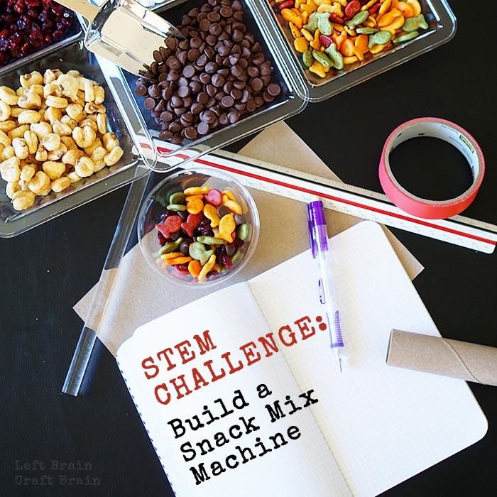 STEM Challenge Snack Mix Machine Left Brain Craft Brain FB2