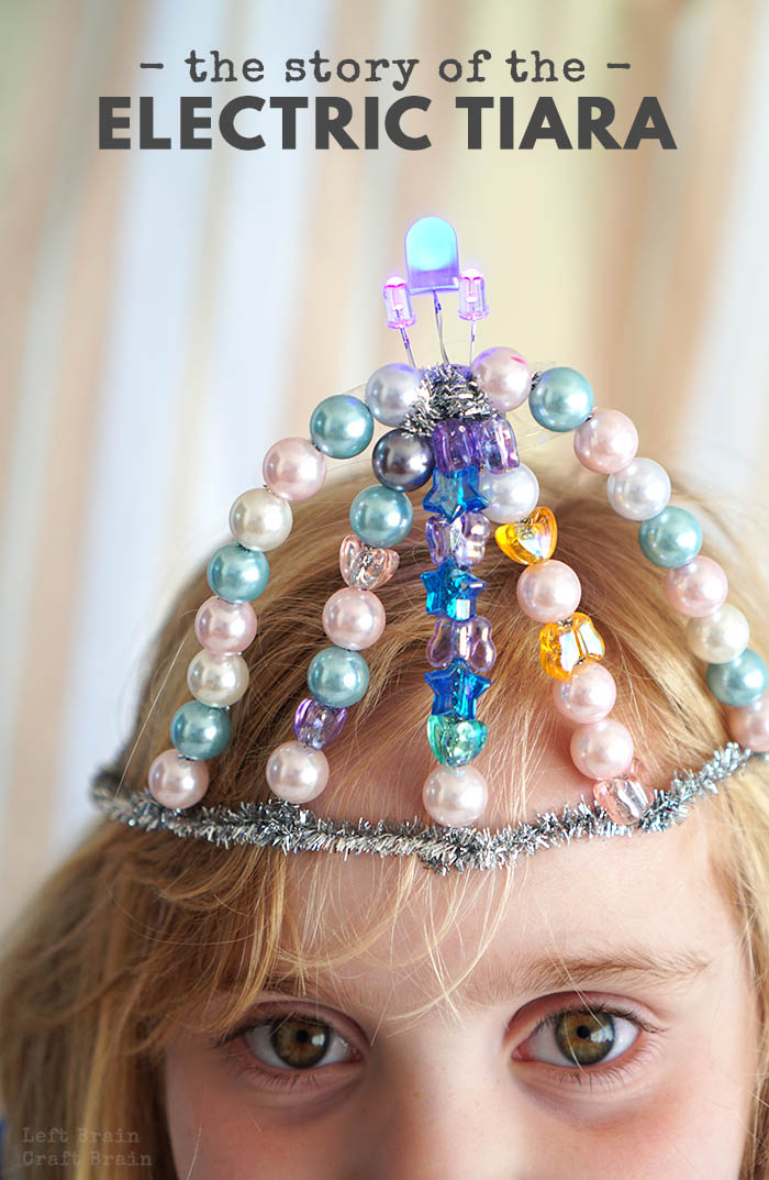 Build an electric tiara worthy of the Disney Light Parade all while helping your girl dream big.