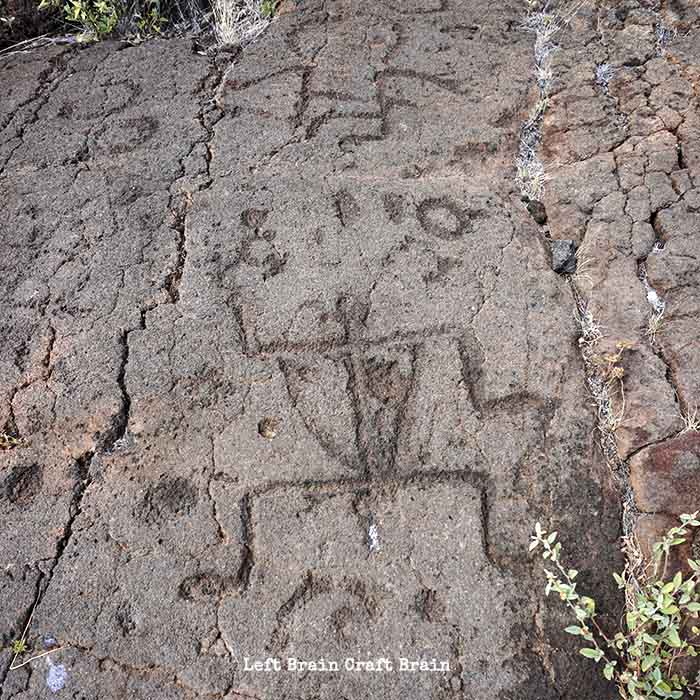 Hawaii Petroglyphs