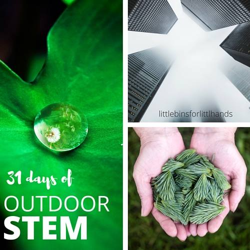 31 Days of Outdoor STEM