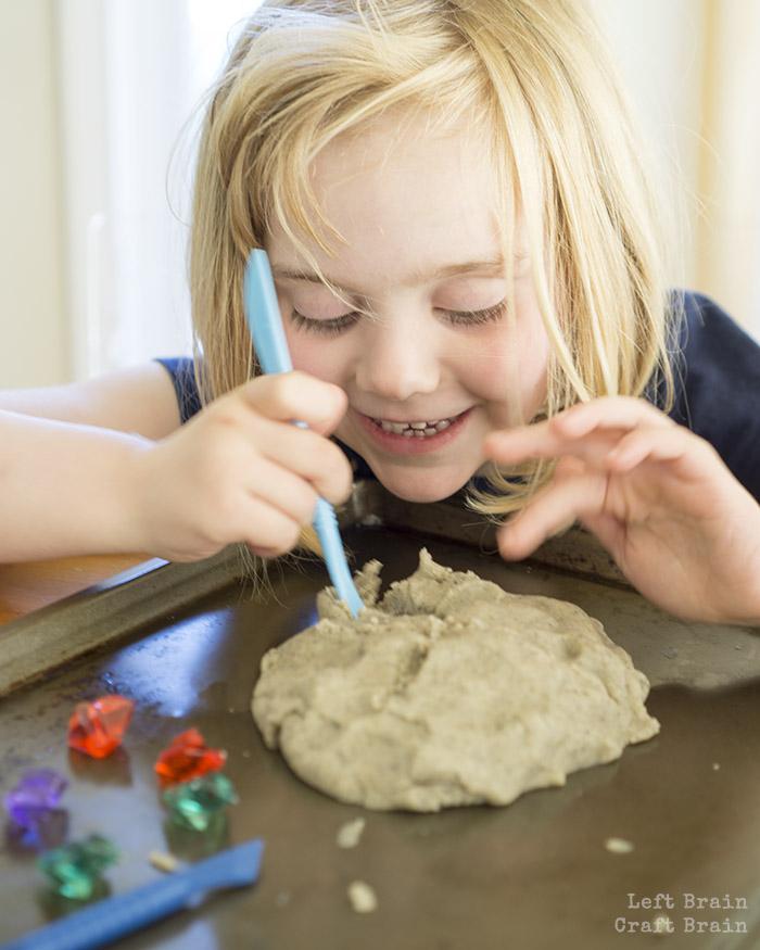 Play Dough Treasure Hunt Left Brain Craft Brain