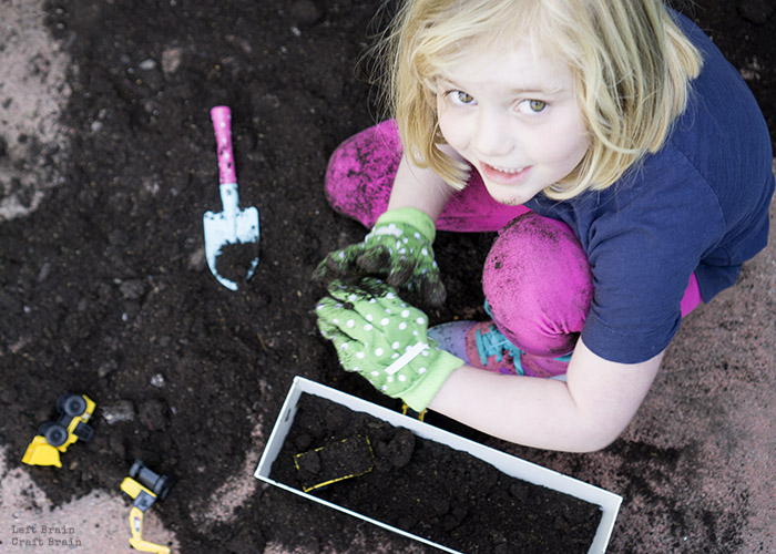 Playing in the Dirt Left Brain Craft Brain