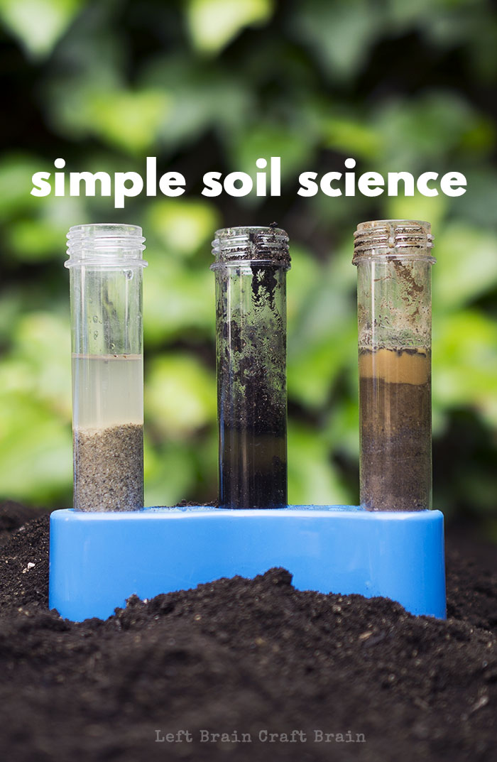 Get out in the yard and do a little science. Simple Soil Science is a fun way to learn while playing in the dirt.
