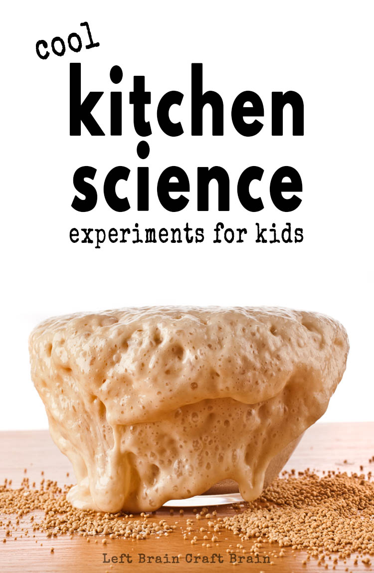 Have fun in the kitchen with these cool kitchen science experiments for kids. Think magic milk, walking water, oobleck, food science, and more!