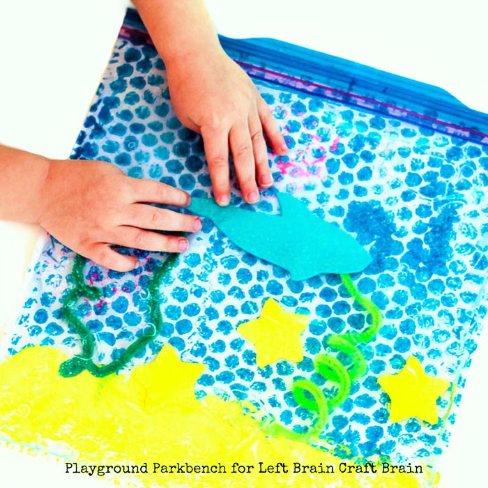 Hands on Sensory Play 3 for Shark Week