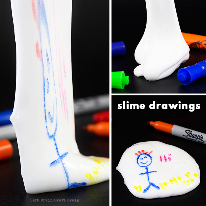 stretchy slime drawings