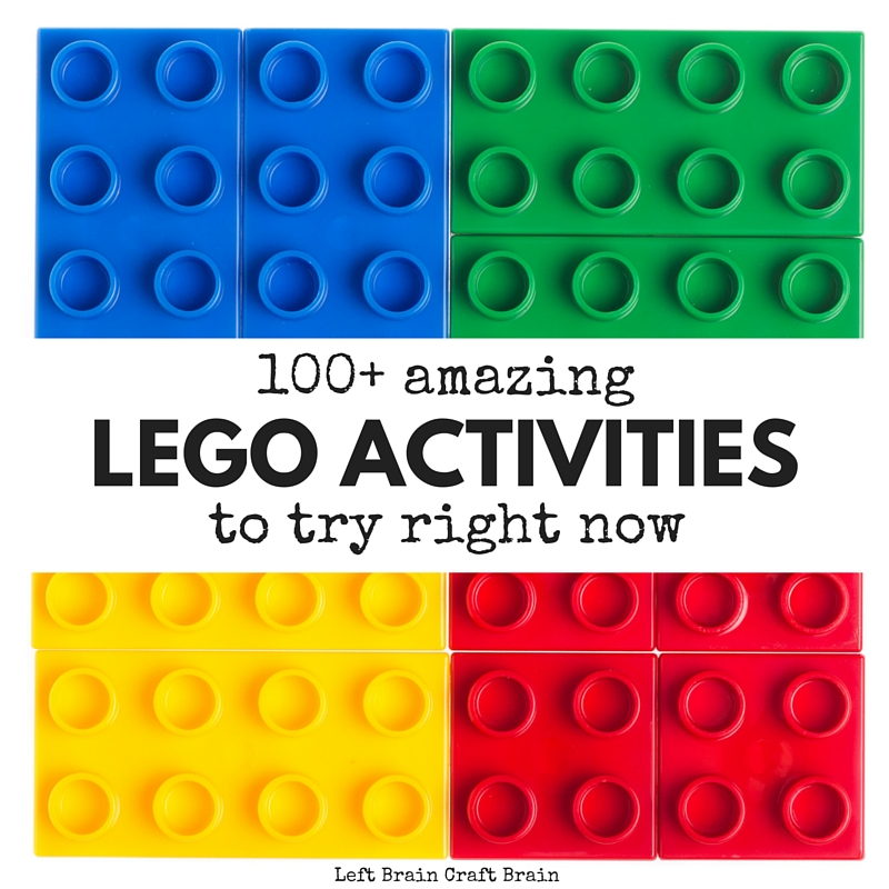 100 Amazing LEGO Activities to Do Right Now