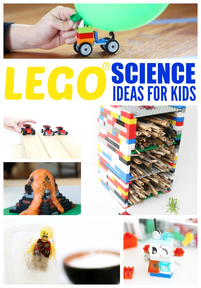 The Unofficial Guide to Learning with LEGO has fun and education LEGO activities for your favorite brick loving kid. Science, math, social studies and more!