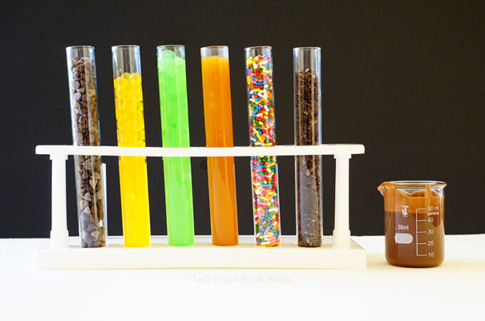 Test Tube Topping Station