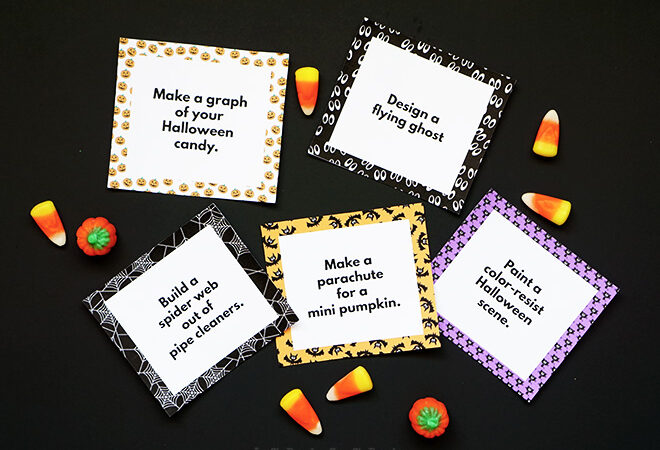 31 Days of Halloween STEAM Challenges