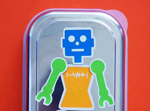 Lunchbox Robot Magnets