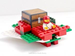 LEGO Santa Sleigh STEM Building Challenge
