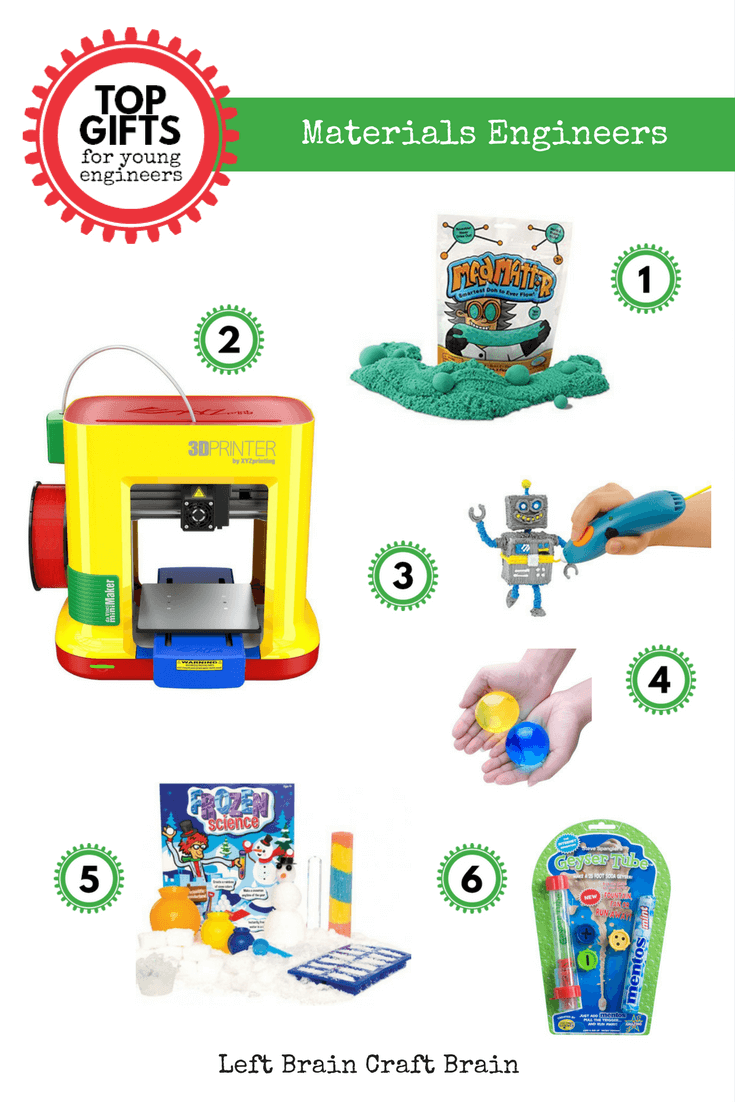 Top Gifts for Young Engineers - 2016 Edition - Left Brain Craft Brain