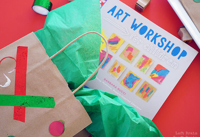 Kid-Made Holiday Gift Bags