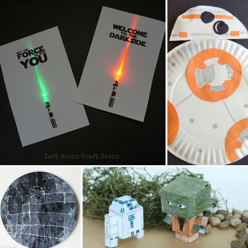 star wars craft wars crafts for left brain craft brain 3000