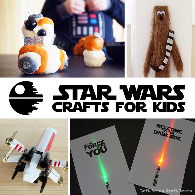 photo about Star Wars Printable Crafts known as Star Wars Crafts for Little ones - Remaining Thoughts Craft Mind