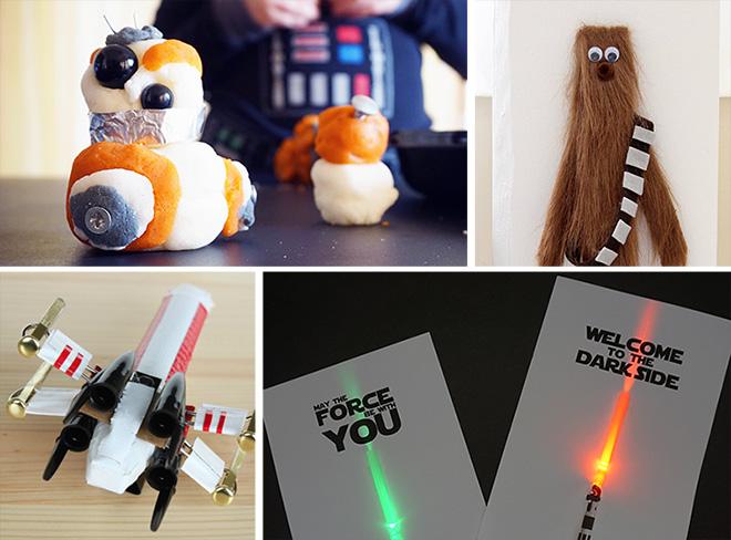Star wars crafts for kids left brain craft brain for 5 minute crafts videos