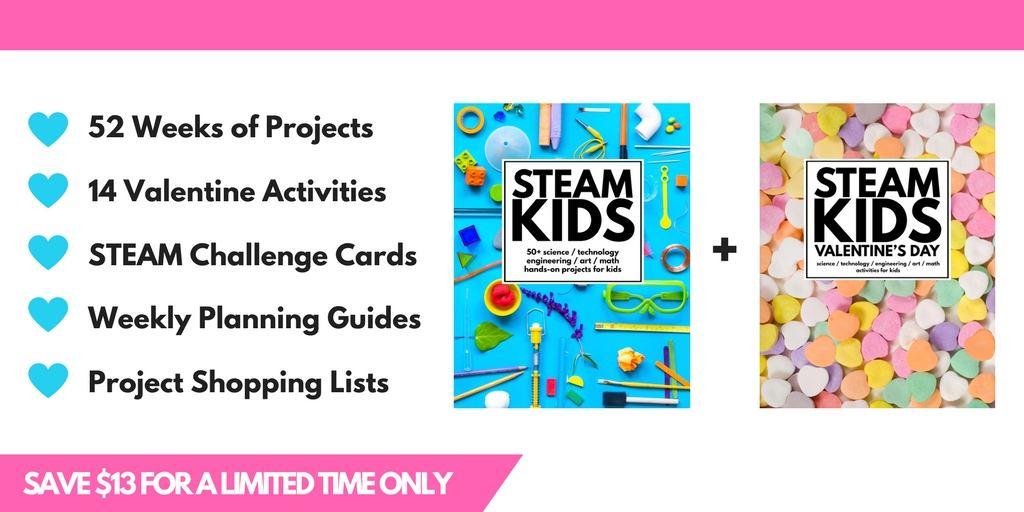 STEAM Kids Valentine's Day Bundle v2