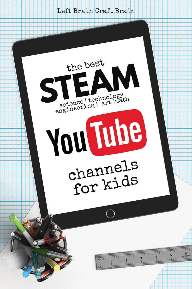 The Best Steam Youtube Channels Left Brain Craft Brain