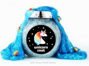 Unicorn Snot Slime
