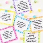 Valentine's Day STEAM Challenges for Kids