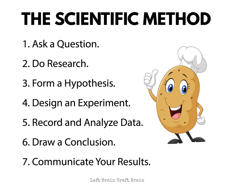 This baked potato science fair project is a delicious STEM activity for kids and a great way to learn about the scientific method. Plus there's a printable workbook to make doing to project easier.