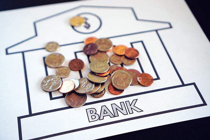 Bank Closeup
