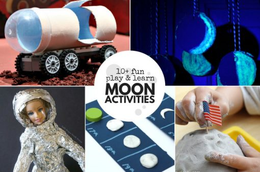 10+ Fun Play and Learn Moon Activities