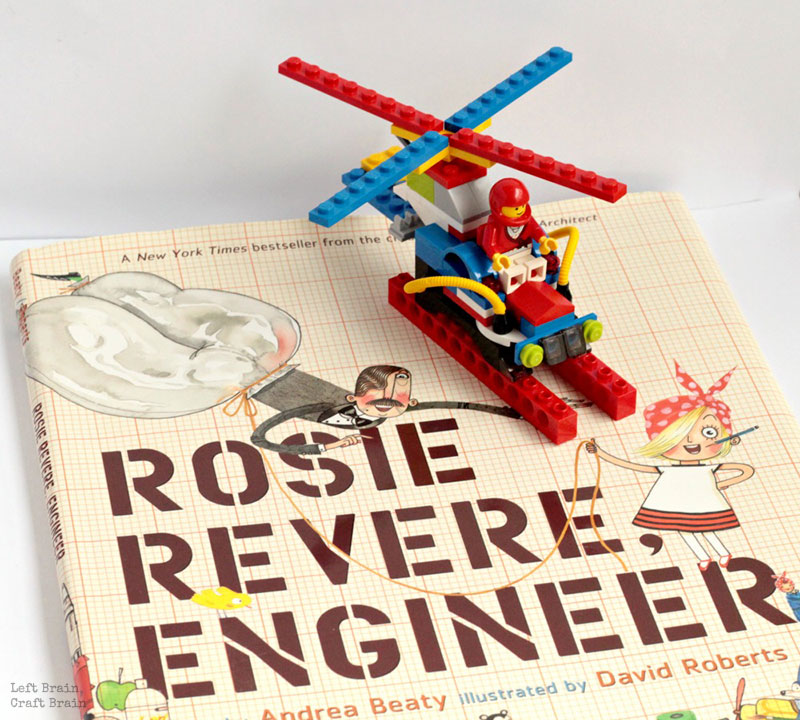 Storytime LEGO Building Challenge - Left Brain Craft Brain