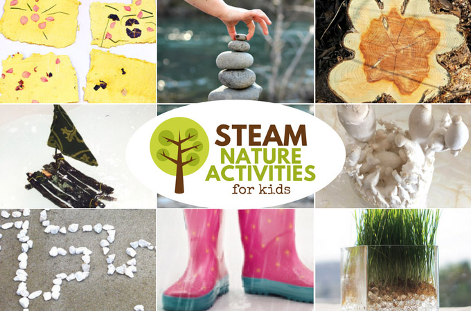 Awesome STEAM Nature Activities for Kids