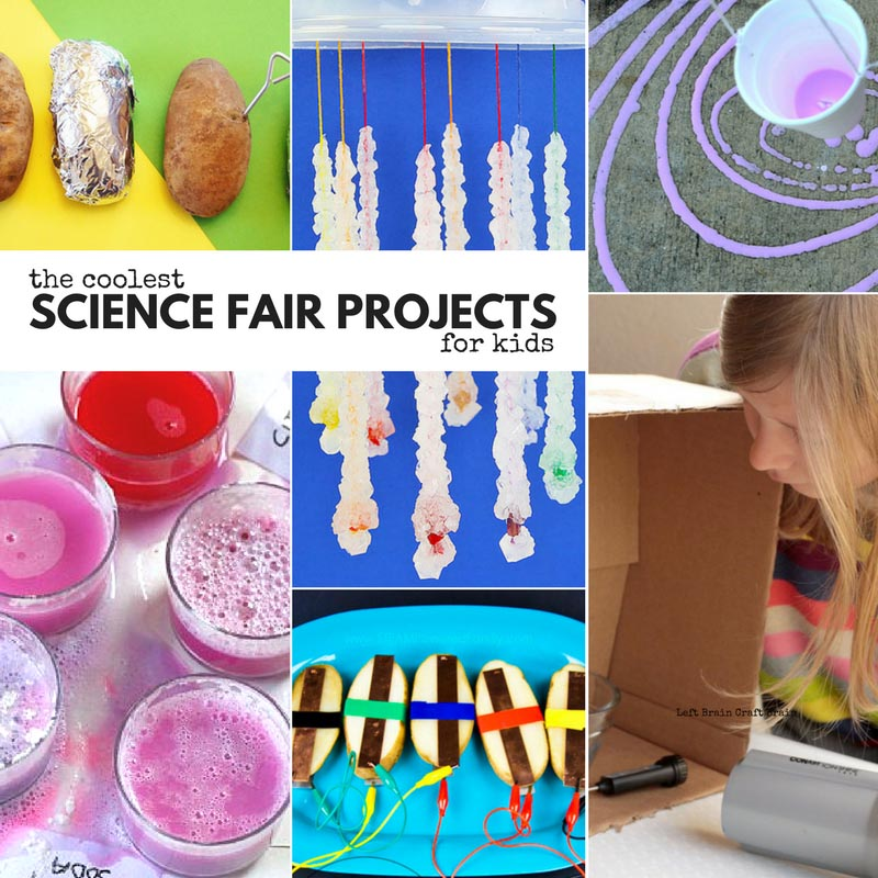 The coolest science fair projects for kids.