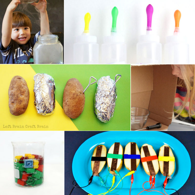 the coolest science fair projects for kids left brain craft brain