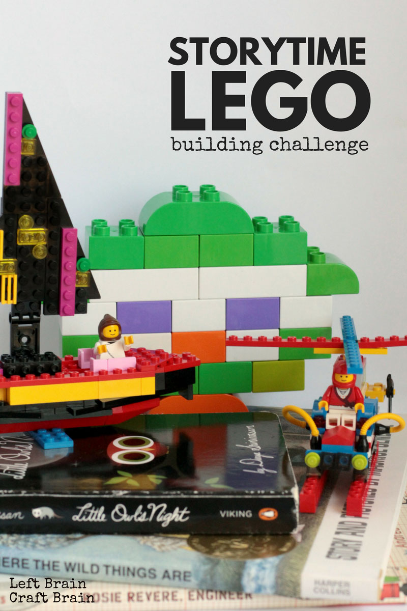 Lego Building Challenge for STEM