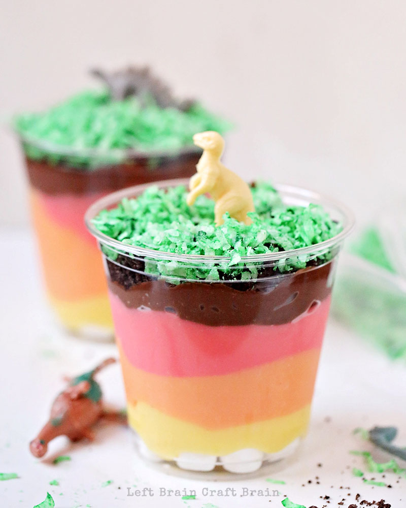 Layers Of The Earth Pudding Cups Left Brain Craft Brain