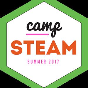 Green Camp STEAM logo 300