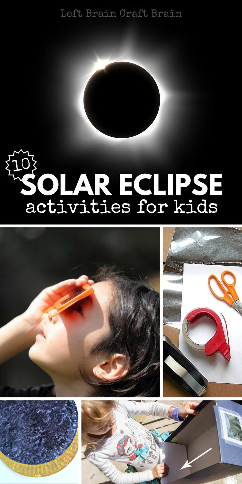 photograph about Printable Solar Eclipse Glasses known as 10 Sunshine Eclipse Routines for Small children - Remaining Intellect Craft Mind