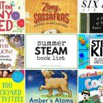 The Coolest Summer STEAM Book List for Kids