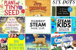 The Coolest Summer STEAM Book List for Kids