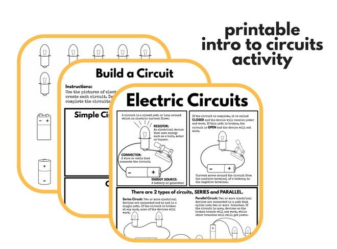 Printable Intro to Circuits featured
