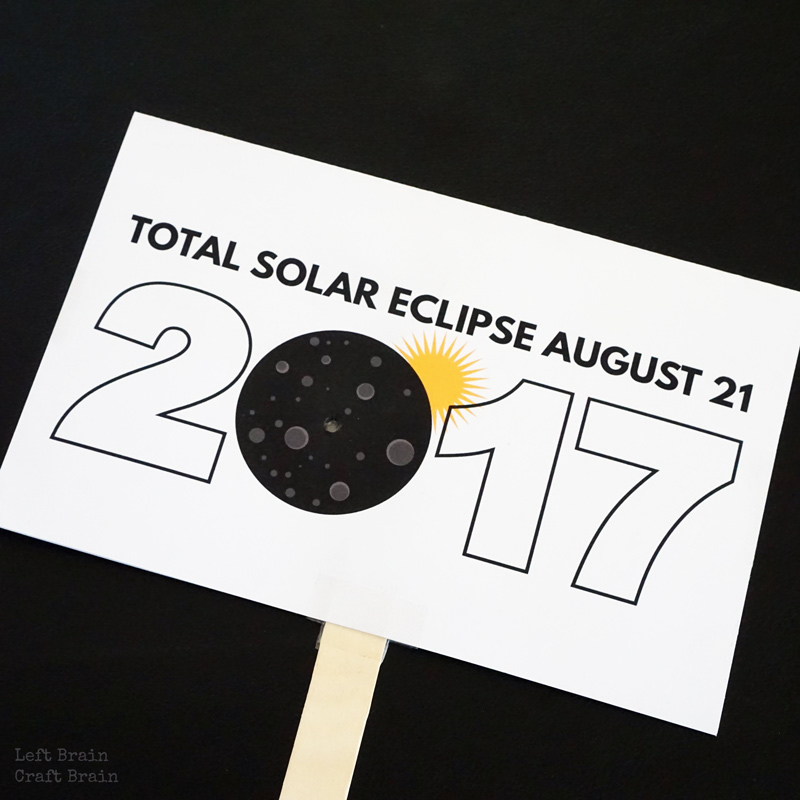 graphic relating to Printable Solar Eclipse Glasses titled 10 Sun Eclipse Pursuits for Young children - Still left Head Craft Thoughts