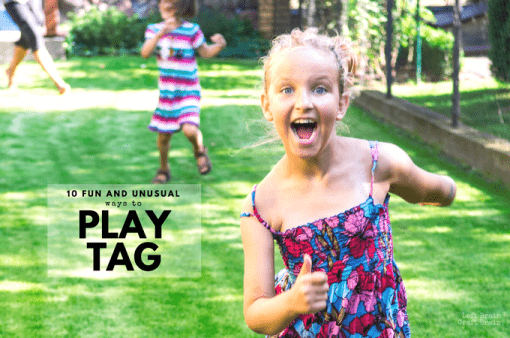 10 Fun and Unusual Ways to Play Tag