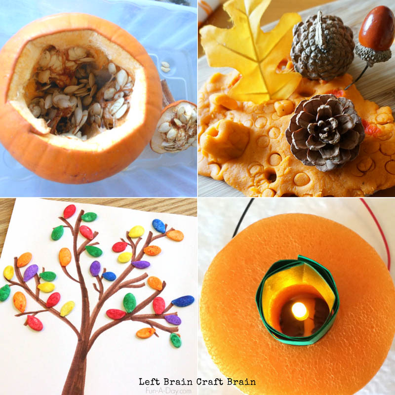 Pumpkin STEAM Activities for Kids