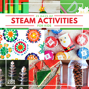 25 Days of STEAM Activities for Kids