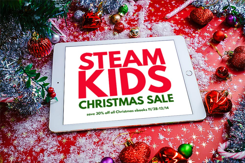 Christmas STEAM fun for kids